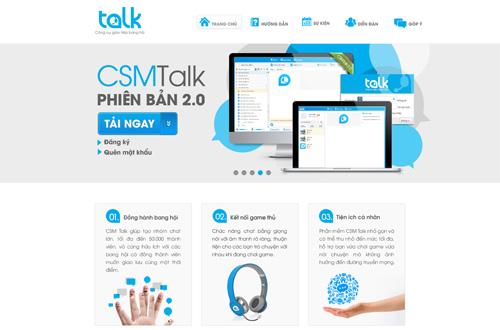Vinadata trình làng CSM Talk 2.0 hỗ trợ cho game thủ 2