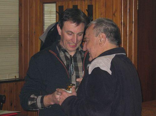 Hil D'Hondt mag de trofee van 2006 mee naar huis nemen. Proficiat.