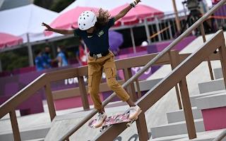 Rayssa Leal se torna a mais jovem brasileira a conquistar uma medalha olímpica