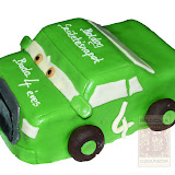 28. kép: Formatorták (fiúknak) - Zöld verda torta