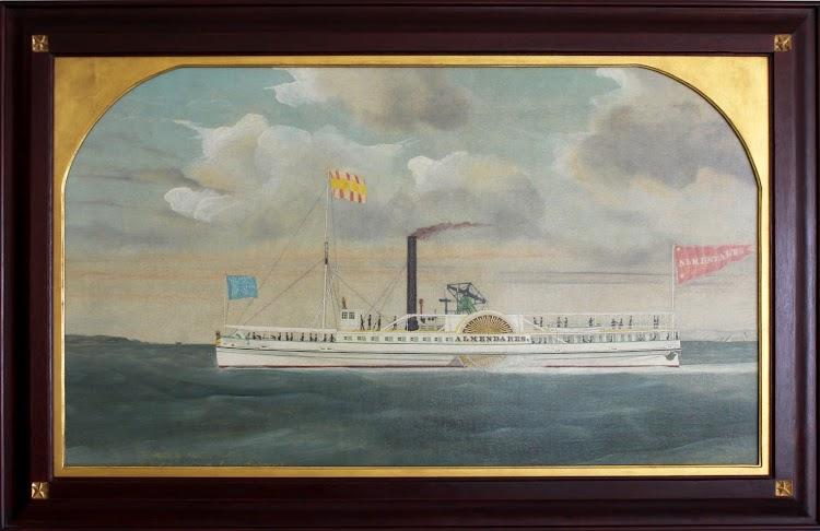Vapor ALMENDARES segun pintura de James Bard, fechada en 1848.tif