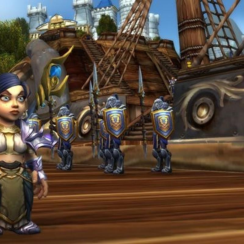 Ich habe meine Seite für World of Warcrafts Battle for Azeroth gewählt