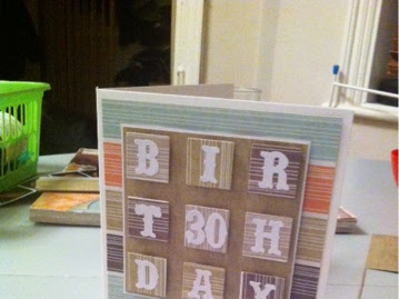 30th Birthday Card - Inchie Style