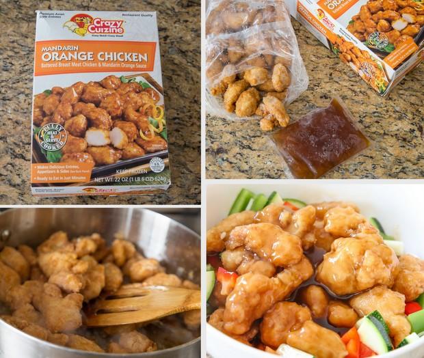Mandarin Orange Chicken Costco