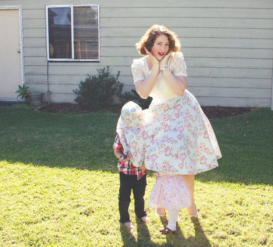 What vintage mamas get up to | Lavender & Twill