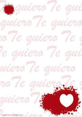 Carta San Valentín.