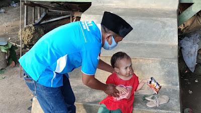 DPD KNPI Buteng Kunjungi Kediaman Nurfida