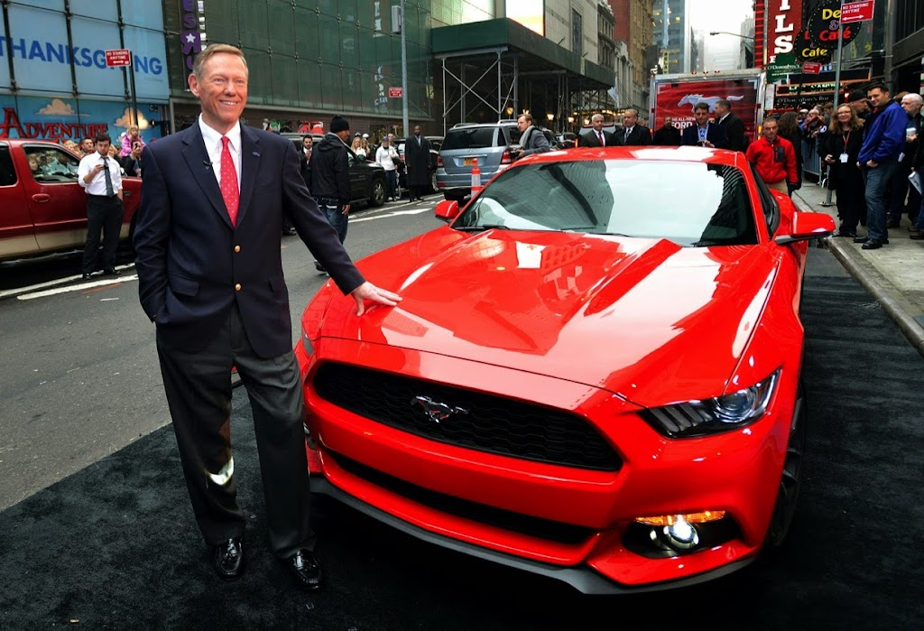 2015 Ford Mustang Times Square 2