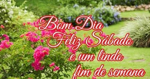 Bom Dia Sabado Animado: Caminho Das Mensagens: Bom Dia, Sábado, Fim De Semana 2308