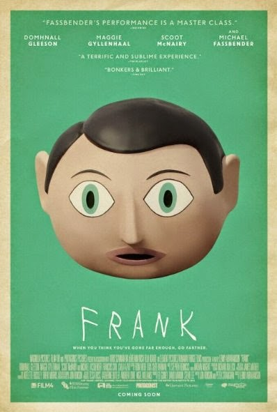 Poster Of English Movie Frank (2014) Free Download Full New Hollywood Movie Watch Online At Alldownloads4u.Com