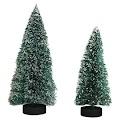 Miniatyr juletrær - 2 str, 4/Pkg