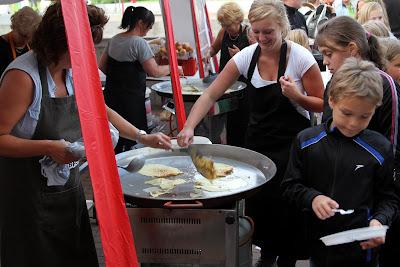 Dorpsvolleybal en Barbecue Terbroek 12 Juli 2013