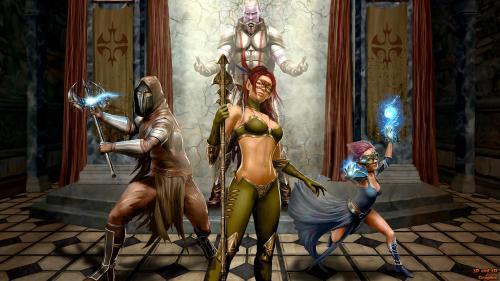 Elf Warrior, Elven Girls