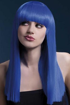 Peruk, Alexia neonblå