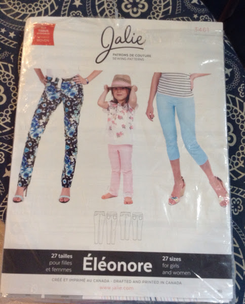 Éléonore pant by Jalie and One pattern many looks PANTS. With Kathy Ruddy.