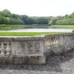 Château du Marais : le miroir depuis la cour