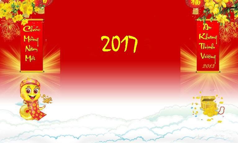 Hình nền đẹp tết Đinh Hậu 2017