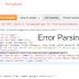 Mengatasi Kode Error Atau Kesalahan Pada Saat mengedit XML html Blog / Template Blogger