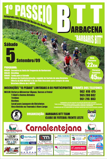 1º Passeio Barbaris Btt Team