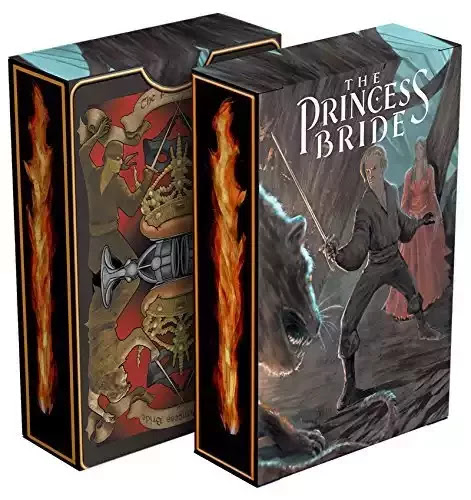 These Princess Bride playing cards are just priceless and beautiful!