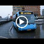 Het vertrek van de Optare Solo van Syntus bus 5316 met lijn 103 naar Nunspeet via Putten