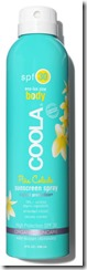 Coola Pina Colada Sunscreen Spray SPF 30 - other strengths and unscented also