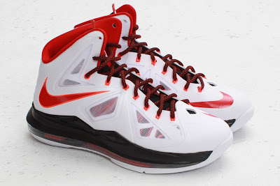 nike lebron 10 gr miami heat home 5 01 Nike LeBron X HOME Arriving at Retailers   New Images