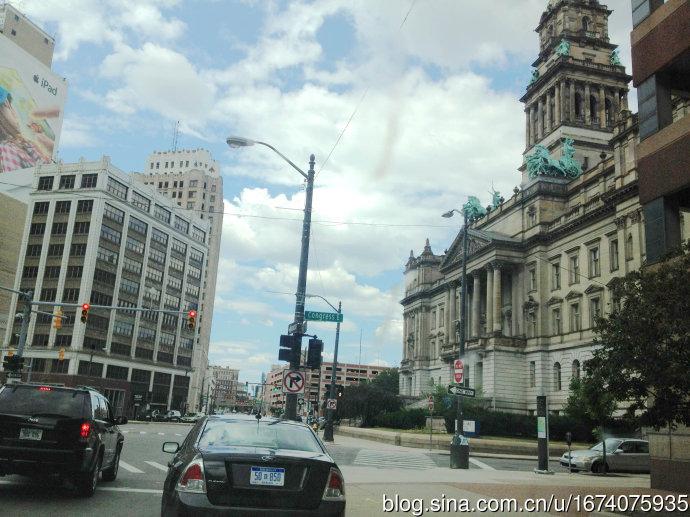 底特律市中心