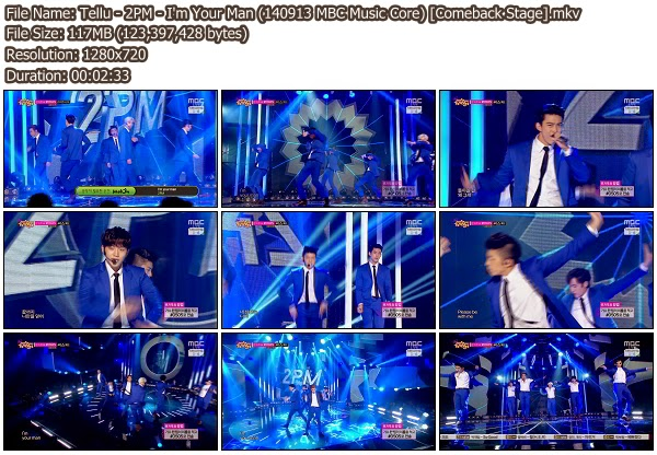 Download [Perf] 2PM – I'm Your Man + Go Crazy @ MBC Music