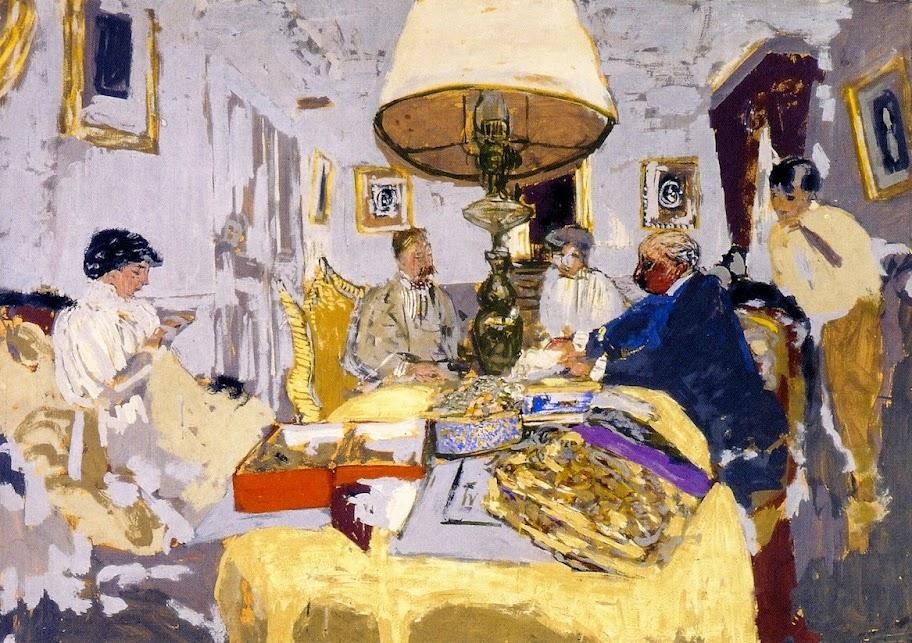 Édouard Vuillard - Friends around the Table