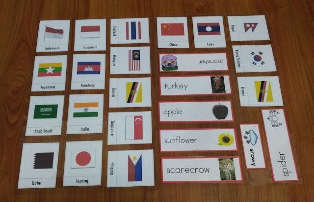 Free Printable Bendera Asia tenggara