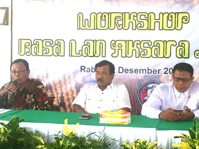 Komite Sastra Jawa, Generasi Sekarang Kurang Dalam Pemahaman Bahasa dan Tulisan Jawa
