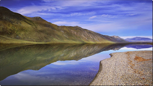 A Rare Calm Day at Lake Peters, Arctic National Wildlife Refuge, Alaska.jpg
