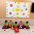 CIRCLE DAY CELEBRATION BY PLAYGROUP SECTION (2017-18) AT WITTY WORLD, BANGUR NAGAR