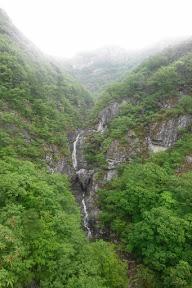 천황산(사자봉), 재약산(수미봉) 하산중 비가 ...