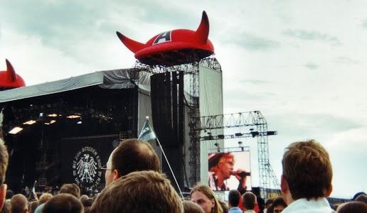 Die Toten Hosen - Vorband für ACDC / Lausitzring 2002