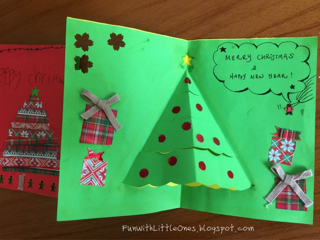 Fun with little ones make your own christmas craft for Christmas crafts for little ones