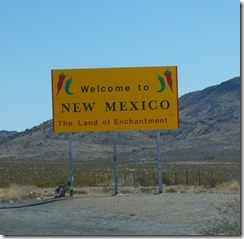 New Mexico border