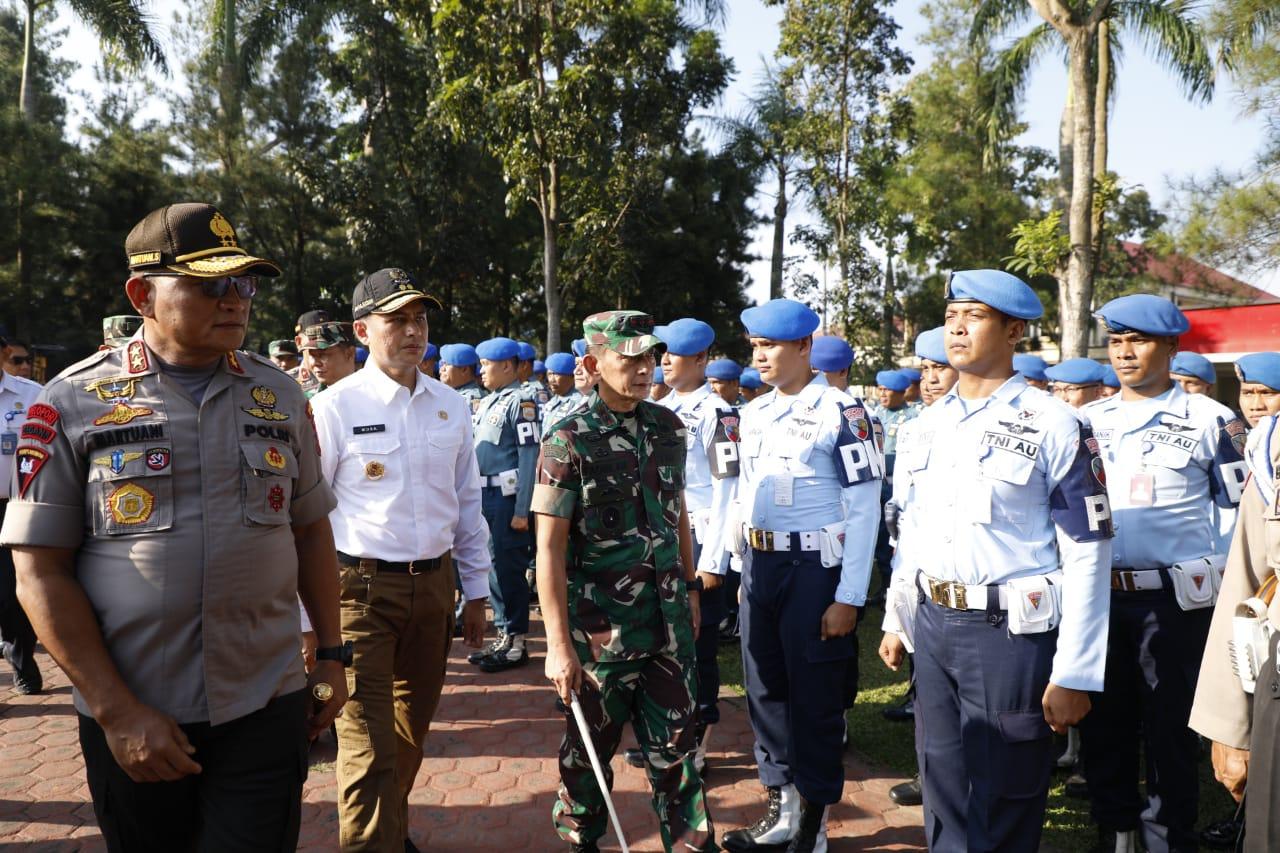 Antisipasi Bencana Alam Nasional, Kapolda Sumut Pimpin Apel Aman Nusa 2