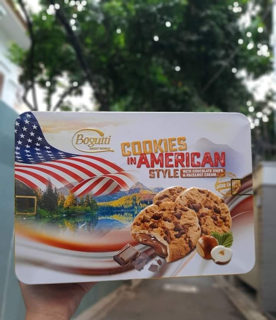 Bánh Quy Bogutti Cookies In American Style Hộp Thiếc