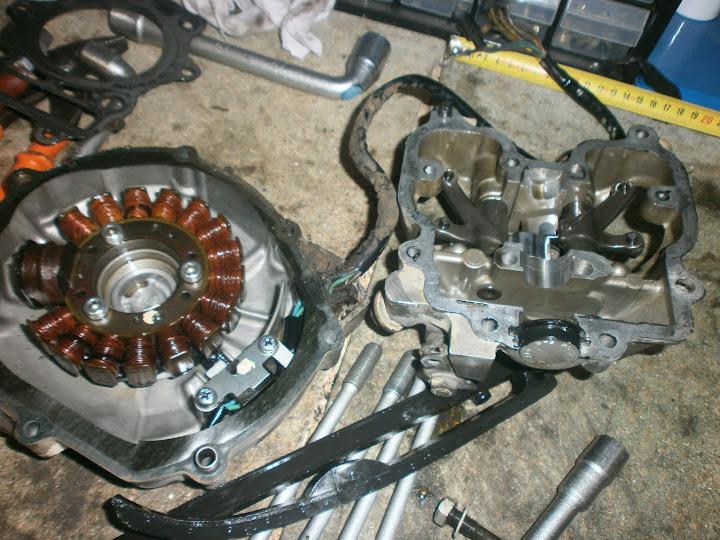 Les moteurs de DR350. P9100002