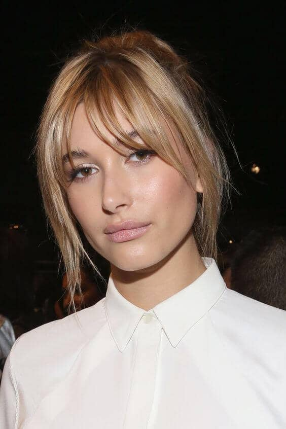 Cute Hairstyle Ideas with Side Bangs