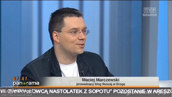 Maciej opowiada o audioprzewodniku po Gdyni
