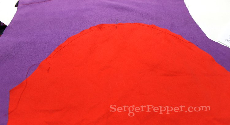 Serger Pepper - Posh Beach Robe - FREE pattern in 6 sizes - Refashion July '14
