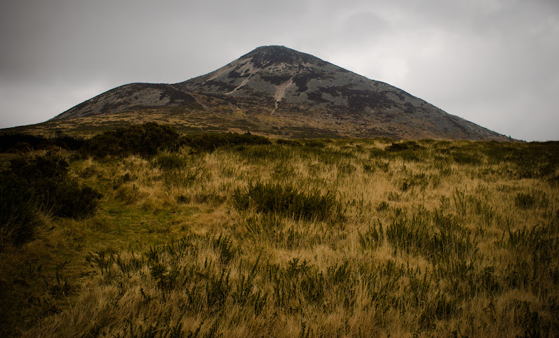 Irlandia -- Sugar Loaf mountain