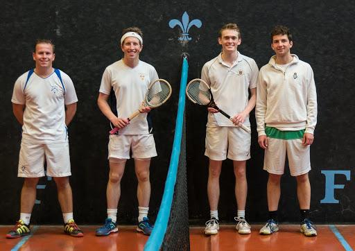 Darren Long, Rob Shenkman (Manchester), Ed Kay, Jamie Giddins (Cambridge)
