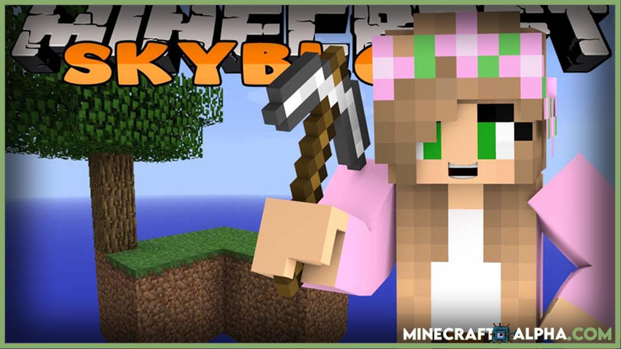 Minecraft New SkyBlock Map 1.17