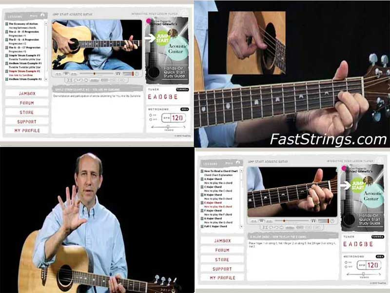 Richard Gilewitz - Jump Start Fingerstyle Guitar