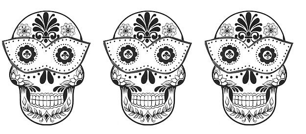 Sugar Skull Coloring Pages Sugar Skull Coloring Pages Bestofcoloring Drawing