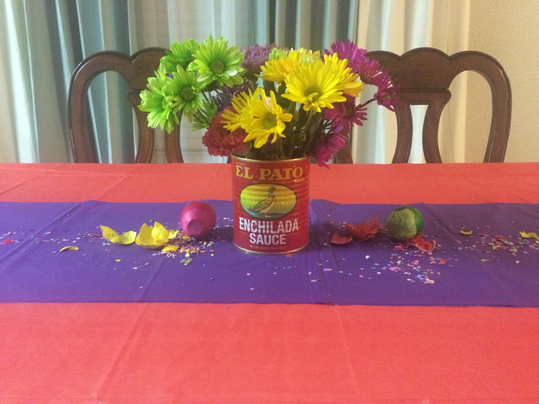 Fiesta Table Decorations Crafty Imaginings Silly Things Its A Fiesta
